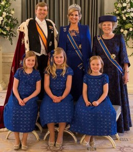 Group Photo - Queen Beatrix Abdication and King Willem Alexander Investiture
