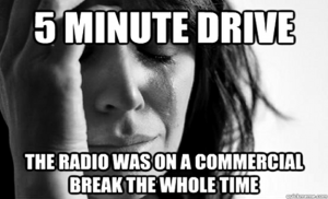 the-radio-was-on-a-commercial-break-the-whole-time-humor